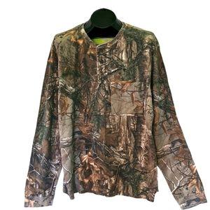 REALTREE Xtra Waffle Henley Camouflage Long 2XL